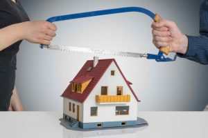 dividing the properties for divorce