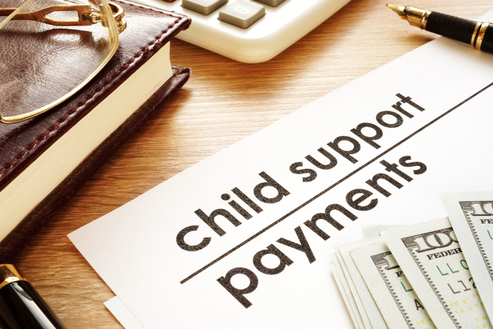 child support payment modification